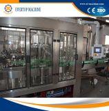 Equipo de relleno de la bebida automática llena para las botellas de cristal
