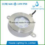 18W LED MutiカラーLED DMX機能の防水噴水ライト