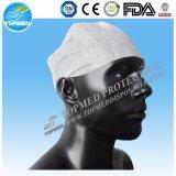 Capa de pico de PVC Snood Worker não descartável para indústria