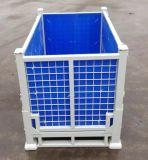 Foldable 저장 격자 금속 용접된 감금소 깔판