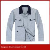 Vêtements protecteurs de sûreté de qualité de polyester en gros de coton (W164)