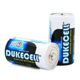 Bateria seca Super Alkaline Lr14 com jaqueta de alumínio