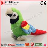 Animal en peluche farcies réalistes Macaw Soft Parrot Toy