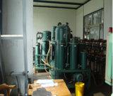 Aceite lubricante del vacío que recicla la máquina
