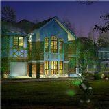 Напольный водоустойчивый репроектор лазера звезды, репроектор ландшафта, свет ландшафта праздника с беспроволочным дистанционным управлением, красный цвет и зеленый цвет