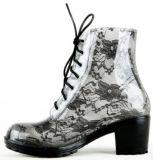 De Laarzen van de Regen van Martin Boots Ladies Fashion Lace met pvc
