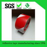 Cinta adhesiva del suelo de la cinta de la marca del suelo de la cinta amonestadora de la seguridad del PVC