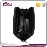Оптовый дешевый бумажник RFID застежки -молнии промотирования преграждая бумажник женщин PU кожаный