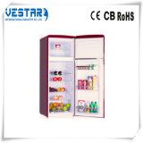 Refrigerador da porta dobro de Bcd-260lh com congelador
