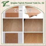 bois dur rouge d'épaisseur de 2.3mm fait face, contre-plaqué commercial de faisceau de peuplier pour des meubles