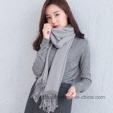 Nuovo cotone di Colletion di inverno del Giappone/scialle/sciarpa di tela (HWBLC010)