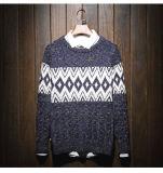 Maglione del tessuto lavorato a maglia jacquard su ordinazione caldo di colore del cardigan della copertura del vestito dell'uomo