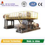 Cenizas totalmente automática máquina de fabricación de ladrillos