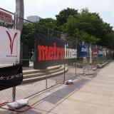 حارّ عمليّة بيع فينيل شبكة راية بناء عالقة راية