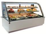 Affichage de la boulangerie Réfrigérateur avec du marbre blanc