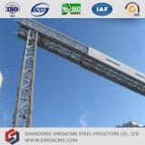 De Sinoacme Vervaardigde Structuur van het Staal van de Transportband voor de Installatie van het Cement