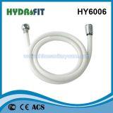 1/2 FM 10L núcleo de plástico de PVC da porca do tubo de borracha de chuveiro (HY6006)