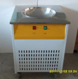 Machine simple de crême glacée de friture de carter avec la plaque gelée