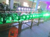 9*10W RGBW 4in1 Mehrfarben-LED flechten NENNWERT Licht mit Batterie 5-6hours