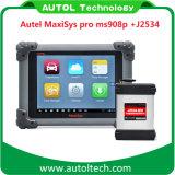 Autel Maxisys original PRO MS 908p de la herramienta de diagnóstico automático J2534 MS908p la programación de la ECU Autel Maxisys 908p