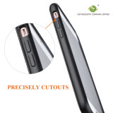 Couverture de la meilleure qualité d'armure de sergé de silicones de choc de C&T de téléphone de caisse de carbone de caisse absorbante de cuir pour l'iPhone 7 d'Apple