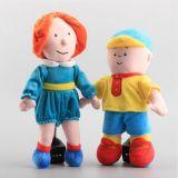귀여운 만화 견면 벨벳 장난감에 의하여 채워지는 인형 아기 장난감