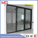 Дверь сползая стекла 3 панелей алюминиевая