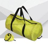 折る大きい容量ポリエステル旅行ハンド・バッグの習慣のロゴ