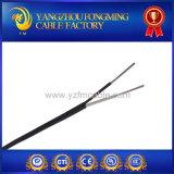 K tapent le câble de thermocouple isolé par fibre de verre d'écran protecteur d'acier inoxydable