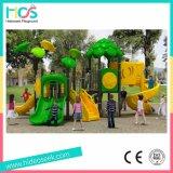 جديدة تصميم ملعب خارجيّة منزلق بلاستيكيّة مع أرجوحة لأنّ أطفال ([هس06001])
