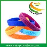Kundenspezifisches Festival personifizierte Silikon-Armbänder für Förderungen