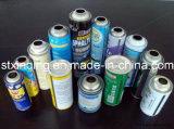 Cuerpo automático de la lata de aerosol que hace la máquina con alta velocidad