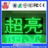 P10 escogen la visualización de pantalla verde del módulo del LED para la cartelera al aire libre