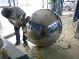 Sfera luminosa di colore dell'oro dell'acciaio inossidabile di rivestimento dei 304 specchi per la decorazione