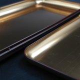 El chocolate exquisita caja de embalaje de metal con forma de comprimido (C009-V2)