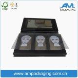 Fantastische verpackenverfassungs-Schatten-Kasten-Großverkauf-Schwarz-Palette mit Spiegel