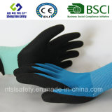 Вкладыш 13 датчиков Nylon, покрытие нитрила, перчатки работы безопасности отделки Sandy (SL-NS102)