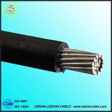 Câble antenne isolés en polyéthylène réticulé bouchonné Passage câble ABC