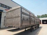 Existencias vivas del ganado del árbol 60ton de China 3/acoplado del cargo/de la estaca del transporte del grano semi