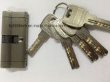 Caja de seguridad de alta calidad/cilindro de cerradura de puerta bloqueo de cilindro de latón