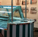 Carrelli di /Gelati dell'automobile del gelato/congelatori italiani vetrina di Gelato