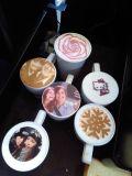 Café da arte/bebidas/impressora do chocolate da impressora do alimento impressora dos bolinhos com tinta comestível de 4 cores