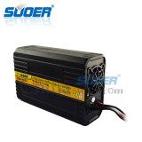 Cargador de batería elegante del cargador 12V 24V del indicador digital de Suoer (SON-20A+)