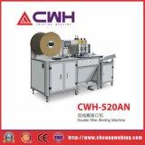 Cwh-520an Bindende Machine van de Draad van het Oefenboek de Dubbele voor Nieuw Boek