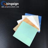 Approvisionnement acrylique de marbre de couleur claire de constructeur de feuille