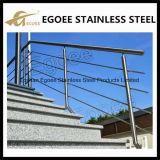 Ss 304 Ss 316 de Montage van de Balustrade en van de Leuning van het Roestvrij staal
