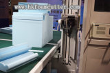 CNCの二重刃の輪郭のスポンジの切断の機械装置