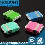 플랜지 없는 중국 공급자 고품질 섬유 접합기 LC 쿼드