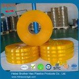 BruderHao Anti-Insekt Gelb-Doppeltes Ribble 2mm Vinylstreifen-Tür-Vorhang