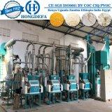 Máquina do moinho de farinha do milho de China da boa qualidade em Kinshasa Congo